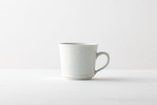 白磁コーヒーカップ 阿部春弥