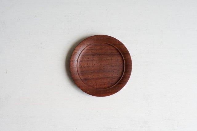 木のコースター 後藤睦