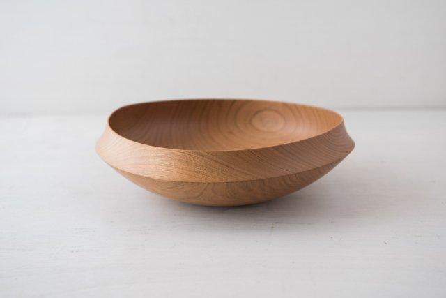 絞り鉢 オイル仕上げ 8寸(24cm) 後藤睦