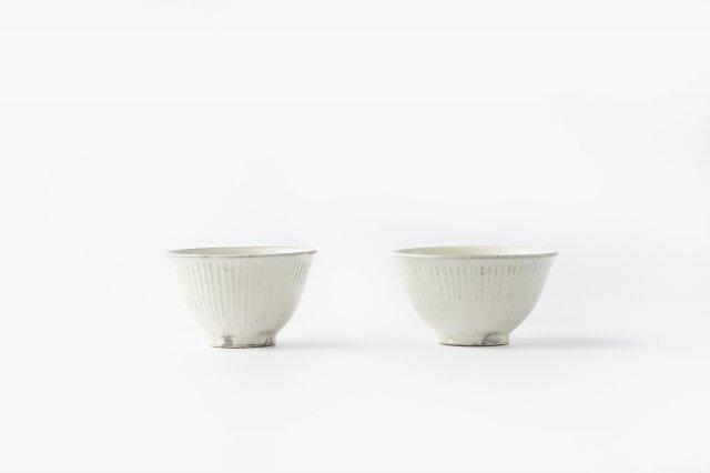 縞飯碗 (お茶碗) 戸津圭一郎