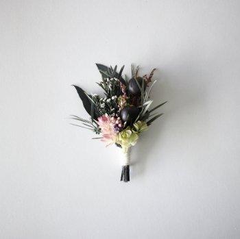コサージュ・ブラックベリー(box付き)