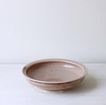 いにま陶房/やさしい器 こどもカレー皿 シェンナ