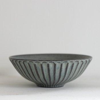 北岡 幸士/鉢5寸 ブルーグレー