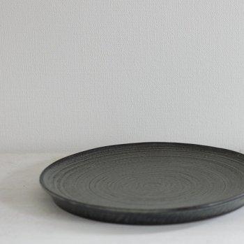 北岡 幸士/台皿7寸 ブルーグレー