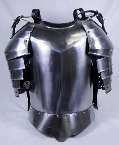 鋼 中世 鎧セット - ブレストプレート - 騎士の衣裳