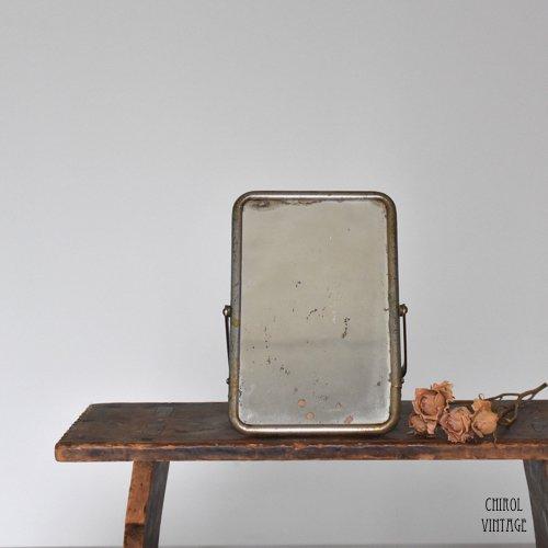 ヴィンテージ フォールダブル テーブルミラー