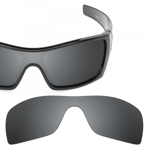 Batwolf Black Chrome MirrorShield Lenses バットウルフ交換レンズ