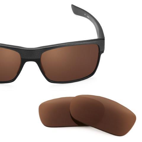 TwoFace Bronze Brown Lenses トゥーフェイス交換レンズ