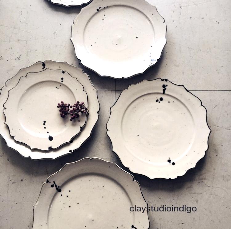 クラシカル皿(中)