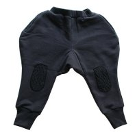Franky Grow (フランキーグロウ) アイラッシュ ニーパッチ スウェットパンツ ブラック (Eyelash Knee Patch Sweat Pants Black)<img class='new_mark_img2' src='//img.shop-pro.jp/img/new/icons20.gif' style='border:none;display:inline;margin:0px;padding:0px;width:auto;' />