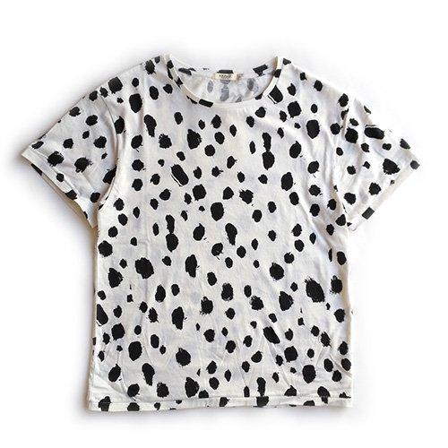 Popupshop (ポップアップショップ) レディース アバロン スプリングサマー Tシャツ ホワイトレオ (Avalon SS - Women White Leo)