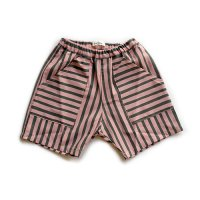 Cokitica (コキチカ) ストライプ ショートパンツ ピンク (Stripe Short Pants Pink) <img class='new_mark_img2' src='//img.shop-pro.jp/img/new/icons5.gif' style='border:none;display:inline;margin:0px;padding:0px;width:auto;' />