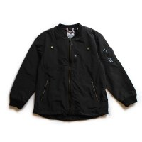 Popupshop (ポップアップショップ) レディース MA-1 ブラック (Woman's MA-1 Black)<img class='new_mark_img2' src='//img.shop-pro.jp/img/new/icons5.gif' style='border:none;display:inline;margin:0px;padding:0px;width:auto;' />