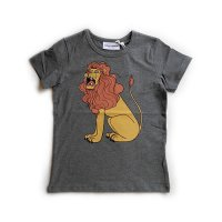 Mini Rodini (ミニロディーニ) ライオンプリント Tシャツ グレー (LION PRINT Tee Grey)<img class='new_mark_img2' src='//img.shop-pro.jp/img/new/icons5.gif' style='border:none;display:inline;margin:0px;padding:0px;width:auto;' />