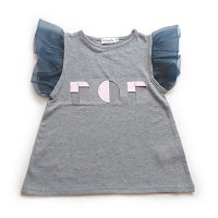 Franky Grow (フランキーグロウ) ソリッドポップ フリルワンピース グレー (Solid POP Frill One Piece Gray) <img class='new_mark_img2' src='//img.shop-pro.jp/img/new/icons5.gif' style='border:none;display:inline;margin:0px;padding:0px;width:auto;' />