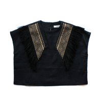 Cokitica (コキチカ) エンブロイデリ 刺繍ブラウス ブラック (Embroidery Blouse Black)<img class='new_mark_img2' src='//img.shop-pro.jp/img/new/icons5.gif' style='border:none;display:inline;margin:0px;padding:0px;width:auto;' />