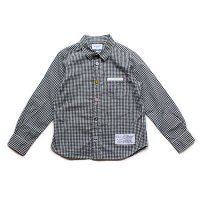 ARCH & LINE (アーチアンドライン) キャンディーシャツ ブラック×ホワイト ミニギンガムチェック (Candy Shirt  Black&White Check)