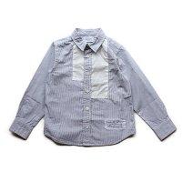 ARCH & LINE (アーチアンドライン) スクウェア シャツ ブルーストライプ (Square Shirt Blue Stripe)