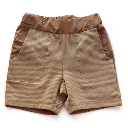 East End Highlanders (イーストエンドハイランダーズ) ショートジャージーパンツ ベージュ (Short Jersey Pants Beige)