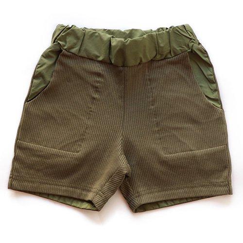 East End Highlanders (イーストエンドハイランダーズ) ショートジャージーパンツ オリーブ カーキー(Short Jersey Pants Olive)