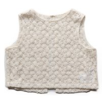 East End Highlanders (イーストエンドハイランダーズ)フラワーレース ベスト オフホワイト (Flower Lace Vest Offwhite)<img class='new_mark_img2' src='//img.shop-pro.jp/img/new/icons5.gif' style='border:none;display:inline;margin:0px;padding:0px;width:auto;' />