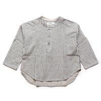 eLfinFolk (エルフィンフォルク)ストライプ リネンシャツ (Stripe Linen Shirts)