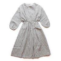 eLfinFolk (エルフィンフォルク)ストライプ リネンドレス(Stripe Linen Dress)