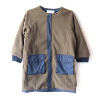 East End Highlanders リバーシブル フリースコート オリーブ  (Reversible Fleece Coat Olive)