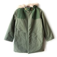 eLfinFolk (エルフィンフォルク)elf コート セージグリーン 【120】【130】【140】(elf Coat Sagegreen)<img class='new_mark_img2' src='//img.shop-pro.jp/img/new/icons5.gif' style='border:none;display:inline;margin:0px;padding:0px;width:auto;' />