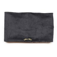 Chocolatesoup(チョコレートスープ)コーデュロイ ネックウォーマー ブラック(Corduroy Neck Warmer Black)<img class='new_mark_img2' src='//img.shop-pro.jp/img/new/icons5.gif' style='border:none;display:inline;margin:0px;padding:0px;width:auto;' />