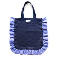 Conexion(コネクシオン)レディース オリジナル フリルバッグ ネイビー&モーブ(Women's Original Frill Bag Navy/Mauve)<img class='new_mark_img2' src='//img.shop-pro.jp/img/new/icons5.gif' style='border:none;display:inline;margin:0px;padding:0px;width:auto;' />