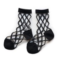 East End Highlanders (イーストエンドハイランダーズ) トランスペアレント メッシュ ソックス ブラック(Transparent Mesh Socks Black)<img class='new_mark_img2' src='//img.shop-pro.jp/img/new/icons5.gif' style='border:none;display:inline;margin:0px;padding:0px;width:auto;' />
