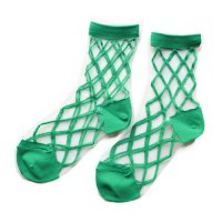 East End Highlanders (イーストエンドハイランダーズ) トランスペアレント メッシュ ソックス グリーン(Transparent Mesh Socks Green)<img class='new_mark_img2' src='//img.shop-pro.jp/img/new/icons5.gif' style='border:none;display:inline;margin:0px;padding:0px;width:auto;' />
