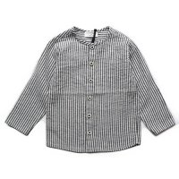 1+ in the family (ワンモアインザファミリー)アータル ブラウス グレーストライプ (ARTAL Blouse Grey Stripe)<img class='new_mark_img2' src='//img.shop-pro.jp/img/new/icons5.gif' style='border:none;display:inline;margin:0px;padding:0px;width:auto;' />