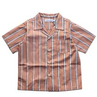 East End Highlanders (イーストエンドハイランダーズ)オープンカラーシャツ オレンジストライプ(Open Collar Shirt Orange)<img class='new_mark_img2' src='https://img.shop-pro.jp/img/new/icons24.gif' style='border:none;display:inline;margin:0px;padding:0px;width:auto;' />