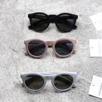 Chocolatesoup(チョコレートスープ)ラウンドサングラス グレー ベージュ ブラック(Round Sunglasses Gray Beige Black)<img class='new_mark_img2' src='https://img.shop-pro.jp/img/new/icons5.gif' style='border:none;display:inline;margin:0px;padding:0px;width:auto;' />