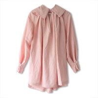 Nuno(ヌーノ)レディース ジャスミン スモッキング シャツ ローブ ピンク (JASMINE Smocking Shirt Robe Pink)<img class='new_mark_img2' src='https://img.shop-pro.jp/img/new/icons5.gif' style='border:none;display:inline;margin:0px;padding:0px;width:auto;' />