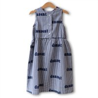 wynken (ウィンケン) ウーブン デザート ドレス ブルーギンガムチェック (Woven Desert Dress Blue Gingham Check)<img class='new_mark_img2' src='https://img.shop-pro.jp/img/new/icons5.gif' style='border:none;display:inline;margin:0px;padding:0px;width:auto;' />