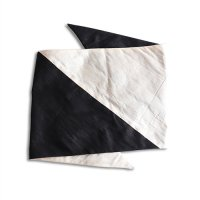 boutique Osono ブティックオソノ ターバン ホワイト&ブラック(BOUTIQUE OSONO TURBAN WHITE/BLACK)<img class='new_mark_img2' src='https://img.shop-pro.jp/img/new/icons5.gif' style='border:none;display:inline;margin:0px;padding:0px;width:auto;' />