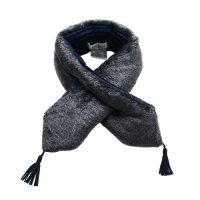 Cokitica (コキチカ) ミラクル ファー マフラー グレー (Miracle fur muffler gray)