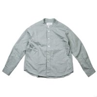 East End Highlanders (イーストエンドハイランダーズ) バンドカラーシャツ グレー (Band Collar Shirt Gray)<img class='new_mark_img2' src='//img.shop-pro.jp/img/new/icons20.gif' style='border:none;display:inline;margin:0px;padding:0px;width:auto;' />