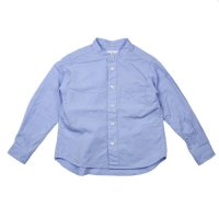 East End Highlanders (イーストエンドハイランダーズ) バンドカラーシャツ ブルー (Band Collar Shirt Blue)<img class='new_mark_img2' src='//img.shop-pro.jp/img/new/icons20.gif' style='border:none;display:inline;margin:0px;padding:0px;width:auto;' />