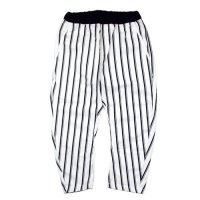 ARCH & LINE (アーチアンドライン) バナナパンツ ストライプ ホワイト (Banana Pants Stripe White)<img class='new_mark_img2' src='//img.shop-pro.jp/img/new/icons20.gif' style='border:none;display:inline;margin:0px;padding:0px;width:auto;' />
