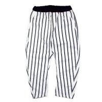 ARCH & LINE (アーチアンドライン) バナナパンツ ストライプ ホワイト (Banana Pants Stripe White)