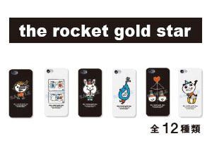 the rocket gold star iphoneケース