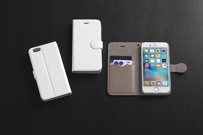 手帳型オリジナルiPhone6/6s対応ケース印刷(内部ハードケース付)
