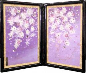 20号二曲【薄紅桜の花咲く頃】