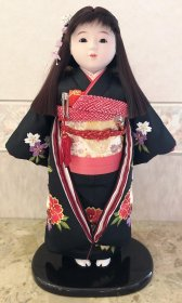市松人形 刺繍