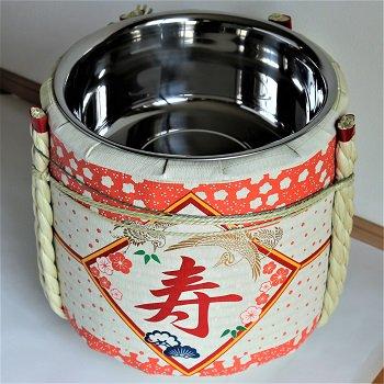 レンタル祝樽2斗 寿・花柄【画像3】