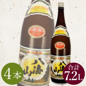 レンタル鏡開き【貸出】 レンタル祝樽用 清酒八海山1.8L(4本)